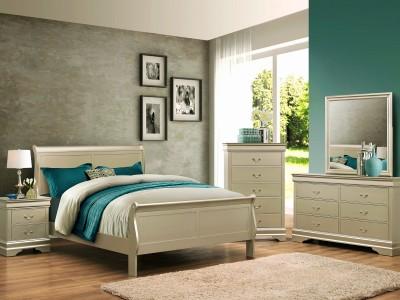Hamilton - 4PC Sleigh Bedroom Set