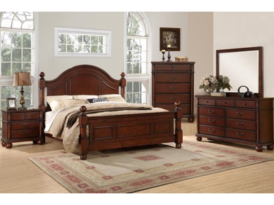 Beverly - 4PC Bedroom Set