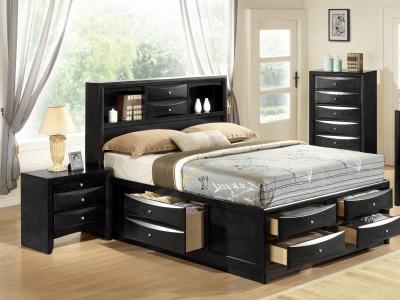 Eleine - King Bed - Storage Bed