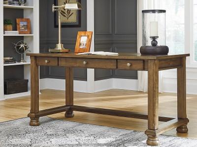 Liberty Island - Medium Brown - Home Office Desk