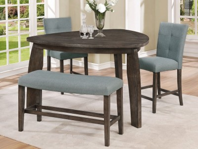 Doris - 5PC - Counter Height Table Set