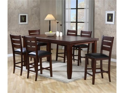 Charleston - 5PC - Counter Height Table Set