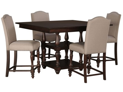 Baxenburg Counter Height Table Set