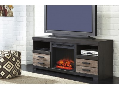 Cameron LG TV Stand w/Fireplace Option