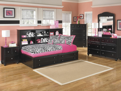 Jaidyn Full Storage Bed