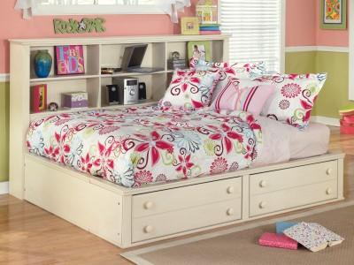 cottage retreat full storage bed
