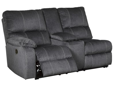 Cupertino - LAF Double Reclining Loveseat w/Console