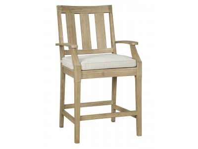 Clare View Barstool with Cushion (2/CN)
