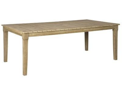 Clare View RECT Dining Table w/UMB OPT