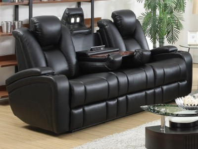Solangie - Home Theater Seats Black