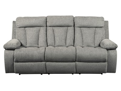 Mitchell Reclining Sofa W/ Drop Down Table