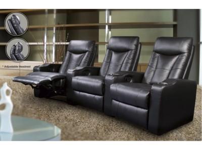 Arris -  Home Theater Seats Black