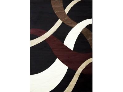 Kayra Collection Black Rug