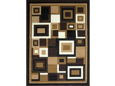 Kayra Collection Brown Rug
