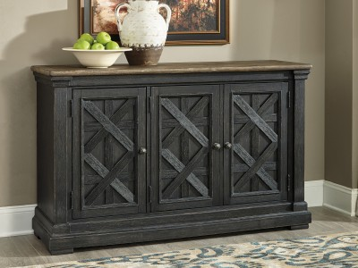 Rafiki Server Cabinet TV stand