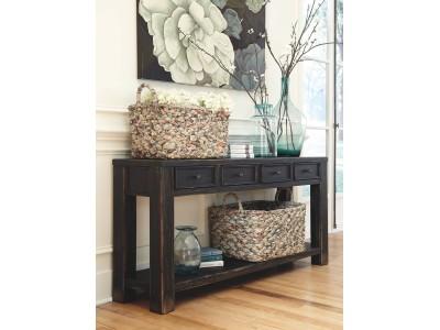 Galveston - Black - Sofa Table