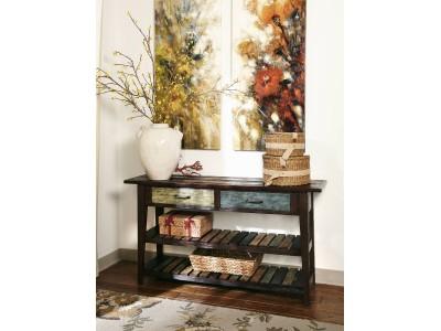 Collen - Rustic Brown - Sofa Table